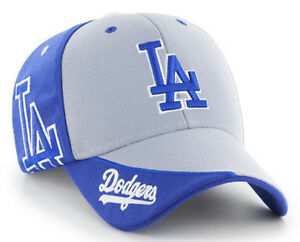 LOS-ANGELES-LA-DODGERS-2-TONE-MASS-HUBRIS-STRAPBACK-039-47-CLEAN-UP-DAD-HAT-CAP-NEW