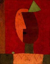 Klee Paul Clown Canvas 16 x 20   #4889
