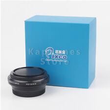 Speed Booster Focal Reducer Objektivadapter für Canon FD Objektive an Micro 4/3