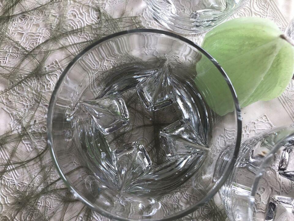 Glas, 4 Whisky glas, Pris er for alle