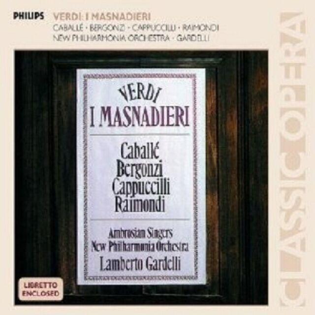 BERGONZI/CABALLÉ/GARDELLI - I MASNADIERI (GA) 2 CD NEU