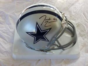 5eff00091 Image is loading DEMARCUS-LAWRENCE-DALLAS-COWBOYS-SIGNED-AUTOGRAPHED -MINI-HELMET-