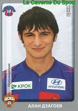 417 ALAN DZAGOEV CSKA.MOSKVA STICKER PANINI RUSSIA LEAGUE 2012