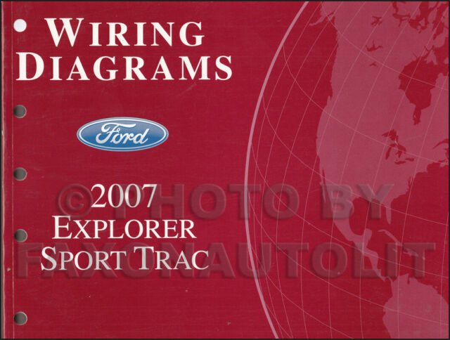 2007 Oem Ford Explorer Sport Trac Wiring Diagram Manual