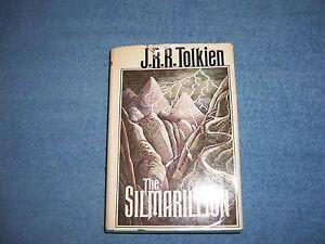 THE-SILMARILLION-by-J-R-R-Tolkien-1st-Ed-10th-Prt-HCDJ-Literature-Adventure
