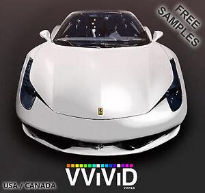 Matte White Car Vinyl Wrap Film 37ftx5ft MW5M01 VViViD Supreme Air Release Tech