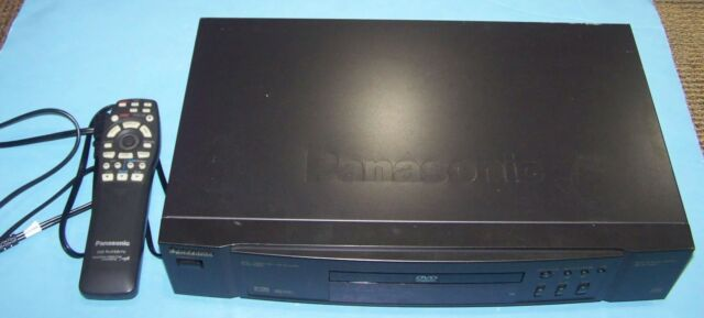 Panasonic DVD Player Model DVD-A320 with Remote