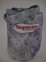 Superior Muslin Backgroud 10x24' Blue Splash