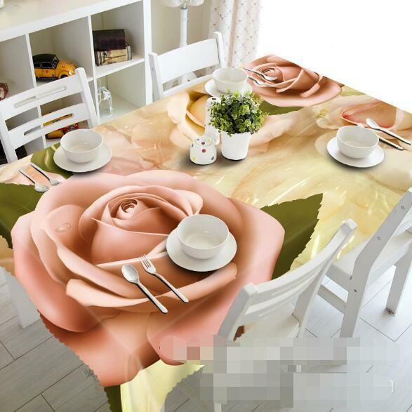 3D rose Rose 4 Tablecloth Table Cover Cloth Birthday Party Event AJ WALLPAPER AU