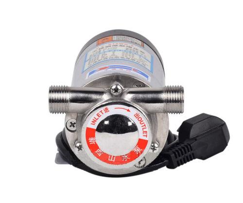 220V,90W Sanitary Booster Pump G 1//2/'/' Food Grade Boost Water Pump