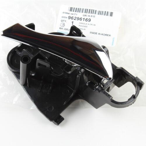 GENUINE Inside Door Handle FRONT RIGHT OEM 99-02 Daewoo Nubira 96296169