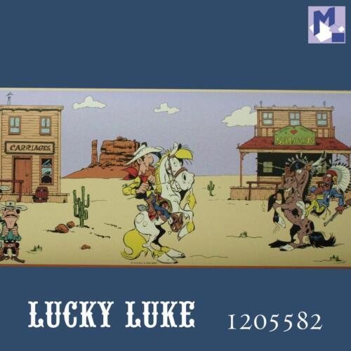 selbstklebende Bordüre LUCKY LUKE + Daltons / Saloon 5m Borte (3,39 €/m)