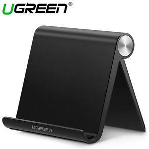 UGREEN Universal Multi-angle Foldable Phone Tablet Holder Desk Stand Mount Black