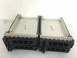 Dell PowerEdge SCSI Hard Drive Tray  YC340 4 Lot of