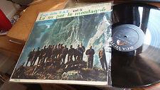 Coro della S.A.T. LP La su per le montagne RCA Victor International 178 Italian