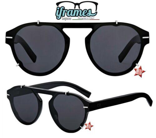Occhiali da Sole iFrames Gradient Vintage Aviator Donna Uomo 2019 Mod BLACKY TIE
