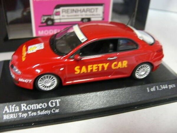 1 43 Minichamps Alfa Romeo GT 2004 BERU Top Ten Safety