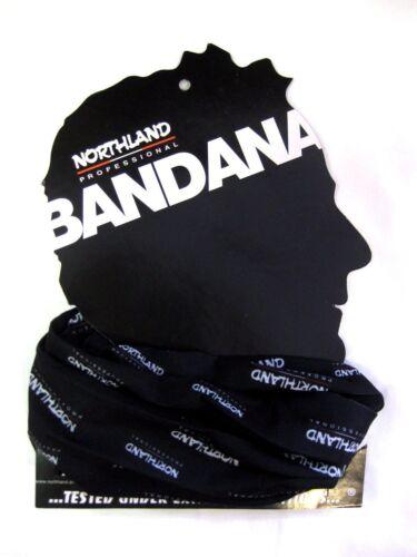 Northland flexibles vielseitiges Bandana Neckgaiter Halsschutz Stirnband black