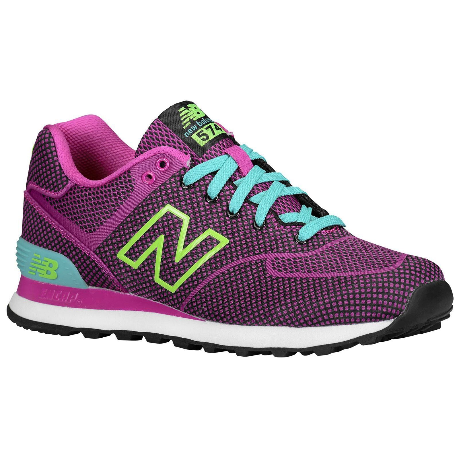 NEW New Balance Classic Purple Womens Trainers Size 6 (WL574AMP)