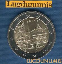 2 euro Commémo - Allemagne 2013 Monastère Maulbronn G Karlsruhe Germany