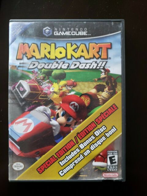 Nintendo Gamecube Mario Kart Double Dash Limited Edition Pak 4