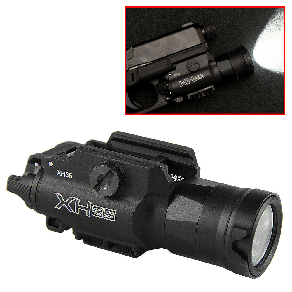 XH35 Weaponlight Ultra-High Dual Output LED Strobe blanco Light For Pistol Light