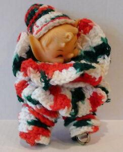 Christmas-crochet-Elf-Doll-with-jingle-bells-Vintage-7-034