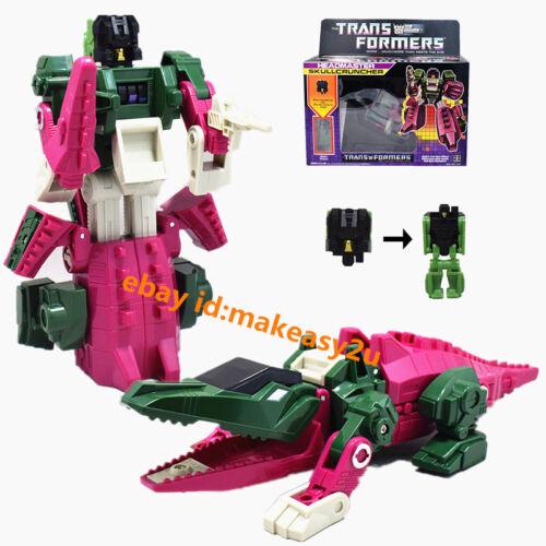 """G1 Headmaster Skullcruncher Action Figure Toy 6/"""" New In Box"""