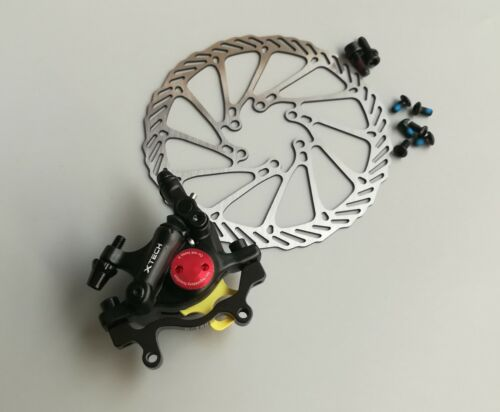 ZOOM Disc Brakes Calipers Hydraulic Front Rear Mechanical pull G3 160mm rotors