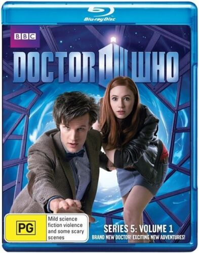 1 of 1 - Doctor Who : Series 5 : Vol 1 - Blu-ray - Brand New + Sealed - fast free post