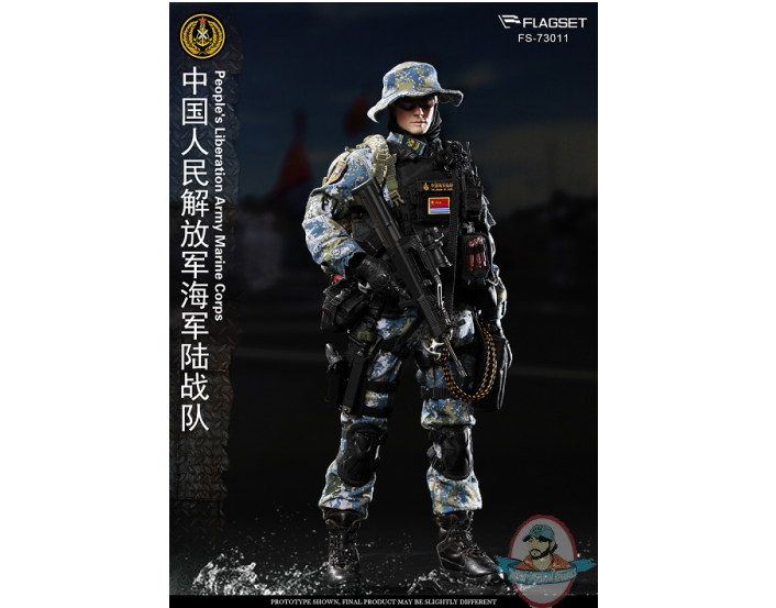 1/6 Flagset People's Liberation Army Marine Corps FS-73011