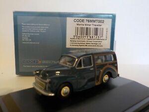 Model-Car-Morris-Minor-Traveller-Blue-1-76-New