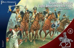 NAPOLEONIC-Britanico-luz-Dragones-1808-1815-perry-Miniatura-NAPOLEONICS