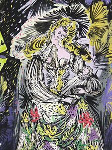 A.m. Rodicq (xx) Maternité Projet De L'affiche Du Festival De Cannes 1962 Cinéma