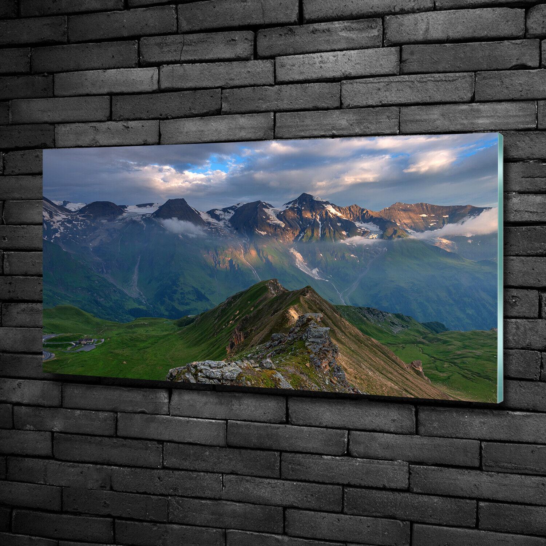 Acrylglas-Bild Wandbilder Druck 100x50 Deko Landschaften Berggipfel
