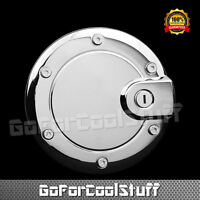 For Jeep Liberty 2002-2007 Chrome Gas Tank Fuel Door Cover