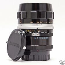 Nikon 55mm f/3.5 Micro-NIKKOR Auto & M Extension CLASSIC MACRO Nippon Kogaku