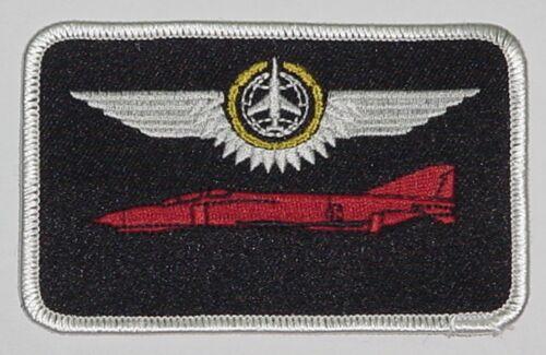 Aufnäher Patch Namemsschild F-4 Phantom II Kampfbeobachter in Gold ......A3604