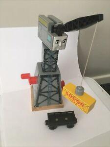 Thomas And Friends Wooden Railway Cranky Crane Brio ELC Magnetic