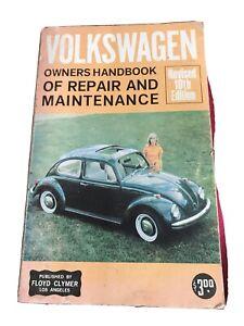 Volkswagen Owners Handbook Or Repair And Maintenance Manual Rare Revised 10th ed