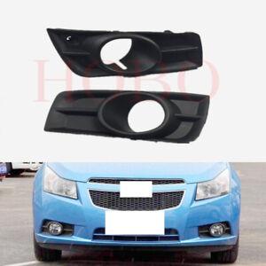 Details about  /2X Front Bumper Fog Light Lamp Grille Trim L+R Side For Chevy Cruze 2011-2014