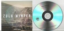 Zulu Winter - Silver Tongue US promo 1 track CD single Arts & Crafts D