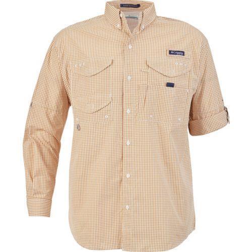 New Columbia Sportswear Men/'s PFG Super Bonehead Classic LS Shirt Medium /_/_S128