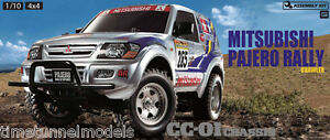 Kit Tamiya 58602 Mitsubishi Pajero Rally Rc - Offre groupée avec radio à deux mains
