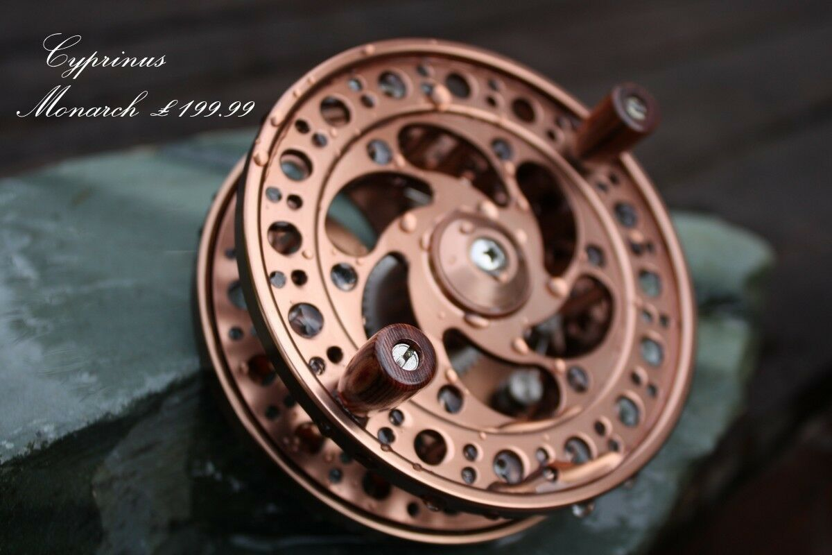 Cyprinus™ Monarch Classic Centre Pin Centrepin Trotting Reel Rrp