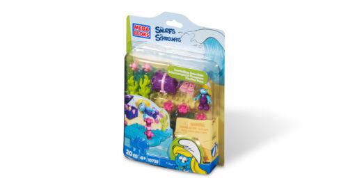 The Smurfs MEGA BLOKS Snorkelling Smurfette Playset Action Pack 10738
