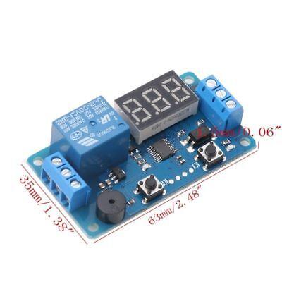 Modulo Rele' Temporizzatore 12 V Con Visualizzazione Sec. A Display