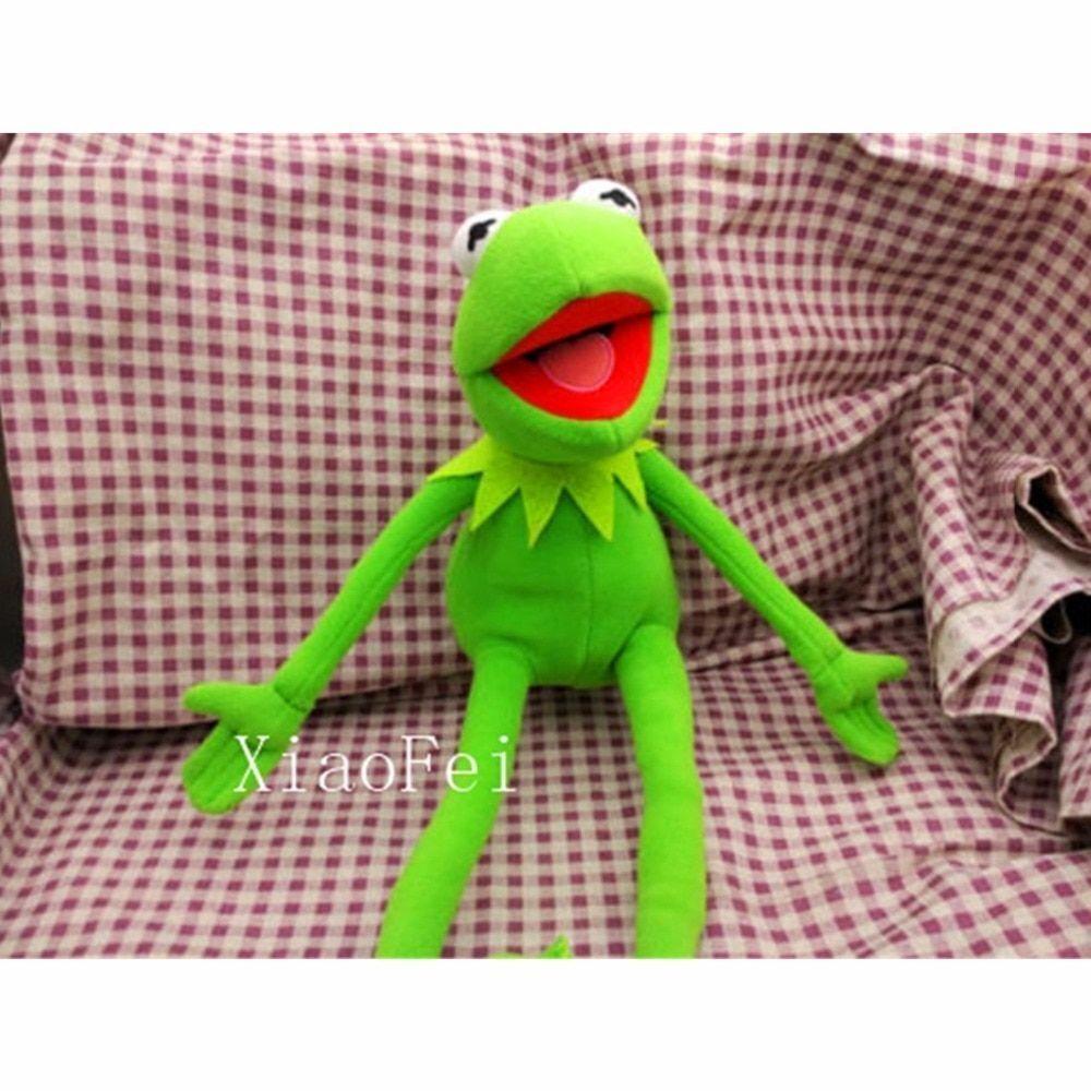 Nya Eden, full kropp Kermit, Frog Hand Puppet Memes Plush leksak Jim Henson mjuk