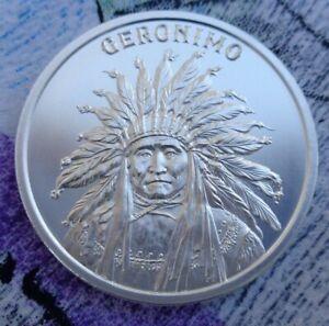 DAVY CROCKETT Wild West Legends BU rounds .999 fine silver 1 oz
