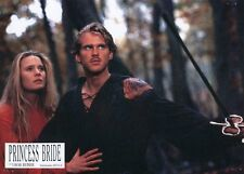 CARY ELWES  ROBIN WRIGHT THE PRINCESS BRIDE  1987 VINTAGE LOBBY CARD #2